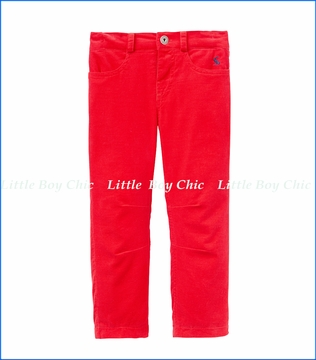 Joules, Corduroy Pants in Red