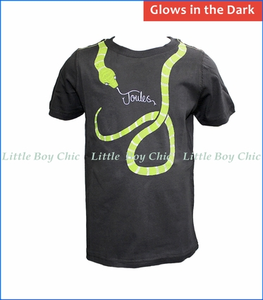 Joules, Glow in the Dark Serpent Tee in Grey