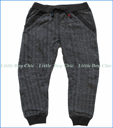 Joules, Textured track pants in Grey
