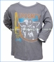 Junk Food, Aerosmith Live Graphic T-Shirt in Grey