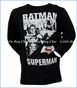 Junk Food, Batman vs. Superman T-Shirt in Black