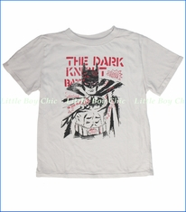 Junk Food, Dark Knight Tee in Foggy Grey