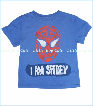Junk Food, Spidey Tee in Liberty (c)