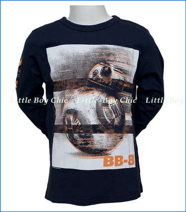 Junk Food, The Force Awakens BB-8 T-Shirt in Blue