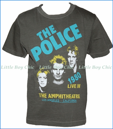 Junk Food, The Police 1980 Tour in Brown