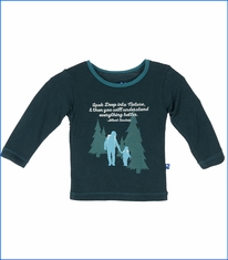 Kickee Pants, Dad & Son Backpacking T-Shirt