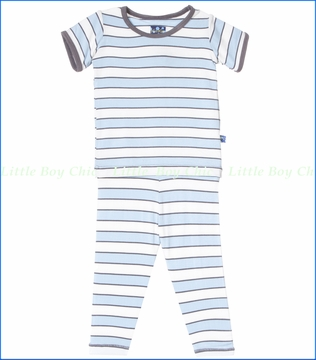 Kickee Pants, Musical Stripe Pajama Set