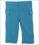 Kickee Pants, Solid Cargo Pant in Bay