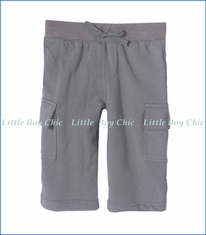 Kickee Pants, Solid Cargo Pant in Rain