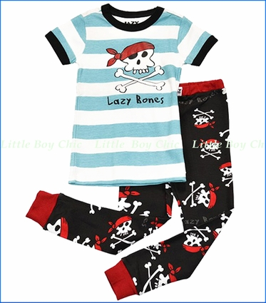 Lazy One, Lazy Bones Pirates PJ Set
