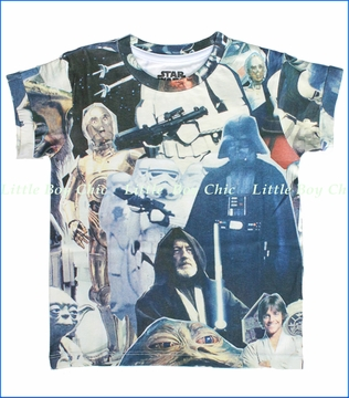 Little ElevenParis, Star Wars Starover Oversized Tee