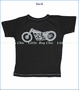 Little Traveler, Victory Motorcycles Slub Tee in Vintage Black (c)