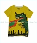 Mini Shatsu, City Monster T-Shirt in Gold