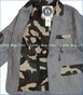 Mini Shatsu, Hint of Camouflage Wool Blend Blazer (c)