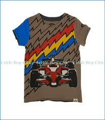 Mini Shatsu, Lightning Speed T-Shirt in Brown