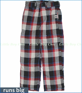 Mini Shatsu, Plaid Pencil Pants (c)