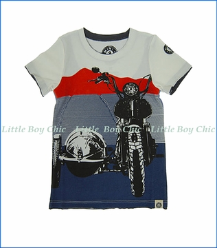 Mini Shatsu, Sidecar T-Shirt in Multicoloured