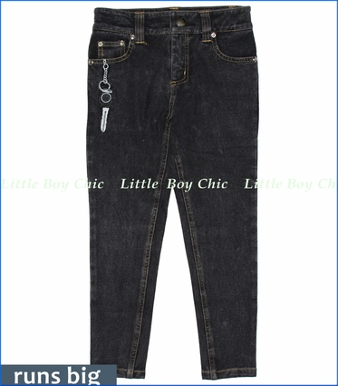 Mini Shatsu, Speedster Slim Fit French Terry Jeans