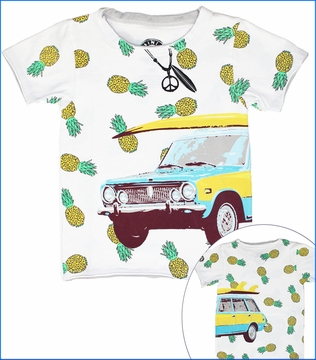 Mini Shatsu, Surf Wagon Tee (c)