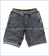 Mini Shatsu, Sweat Shorts in Charcoal