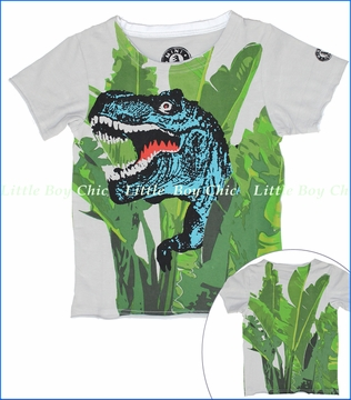 Mini Shatsu, T-Rex Jungle Tee (c)