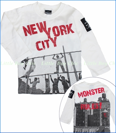 Monster Republic, NYC Rules Tee (c)