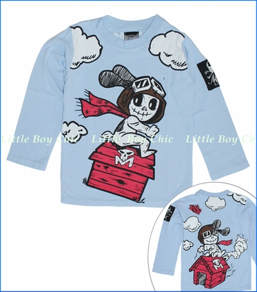 Monster Republic, Skelo Snoopy Tee (c)