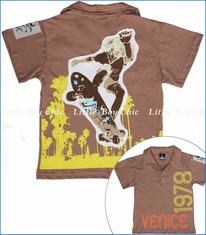 Monster Republic, Venice Polo in Brown (c)