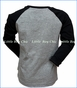 Munster, Mad Run Free Raglan T-Shirt in Grey
