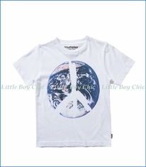 Munster, One World T-Shirt in White