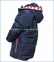 Munster, Stay Teethy Puff Jacket in Blue