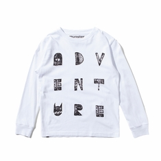 Munster, Vented Fashion T-Shirt in White