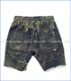 Munster, Wild Things Cut-Off Shorts in Black