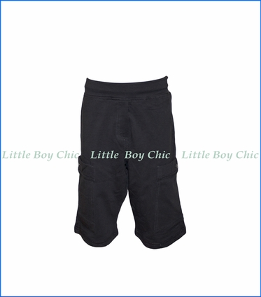Nano, Knit Cargo Shorts in Grey