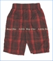 Nano, Plaid Short in Ketchup