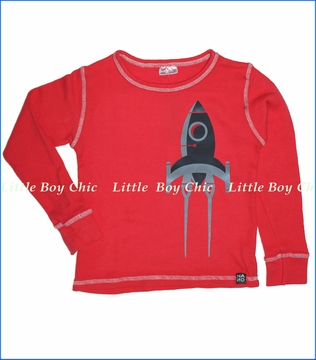 Nano, Rocket Thermal Tee in Red