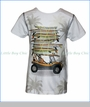 Nano, Surf Car T-Shirt in Off-White