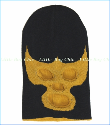 Neon Eaters, Luche Libre Beanie in Black (c)