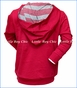 Paper Wings, Hanging Spiders Organic Hoodie in Red
