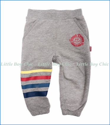 Prefresh, Good Times Forever Fashion Fleece Joggers in Heather Grey