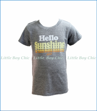 Prefresh, Hello Sunshine T-Shirt in Grey