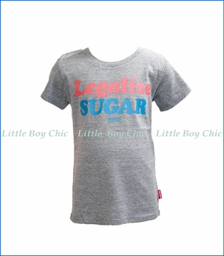 Prefresh, Legalize Sugar Slub T-Shirt in Grey