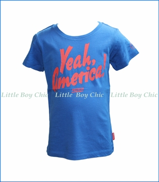 Prefresh, Yeah America! T-Shirt in Blue