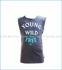 Prefresh, Young Wild Free Tank Top in Black