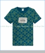 Scotch & Soda, C'est Superbe Print T-Shirt in Blue