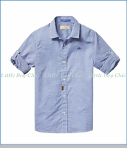Scotch & Soda, Classic Shirt in Blue