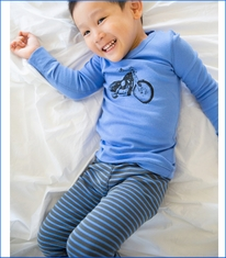 Skylar Luna, Motorcycle Organic Long Pajamas