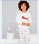 Skylar Luna, Sleighs Organic Pajama Set in Off-White