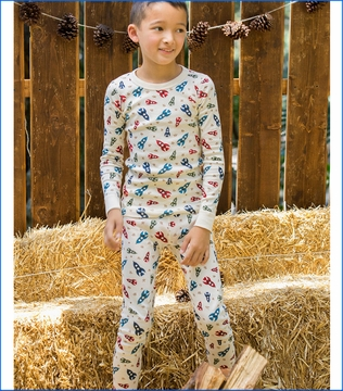 Skylar Luna, Spaceships Organic Long Pajamas