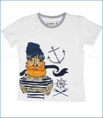 Spitfire, Pirate Tee in Off White (c)